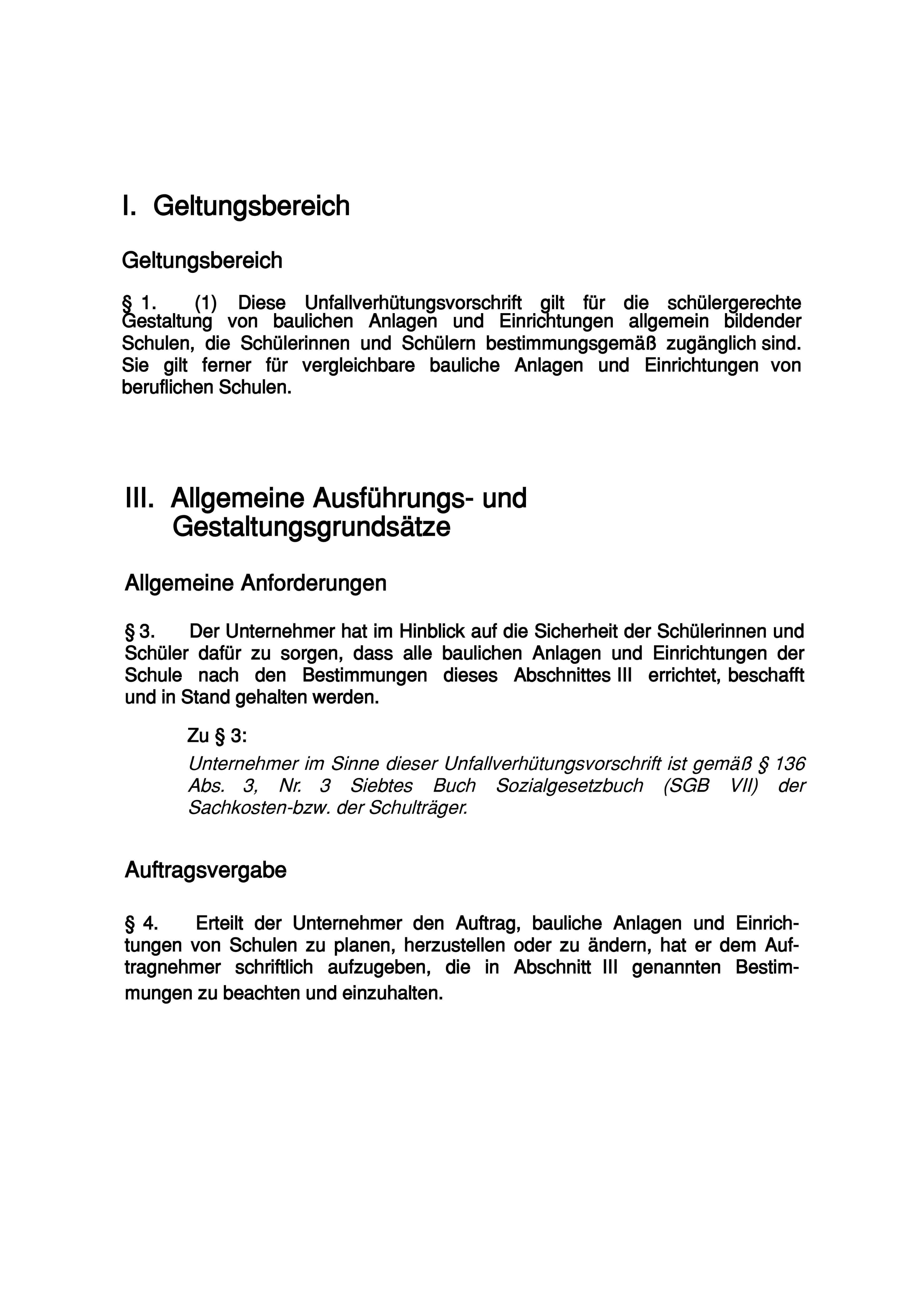 DGUV-Vorschrift-81-Auszug